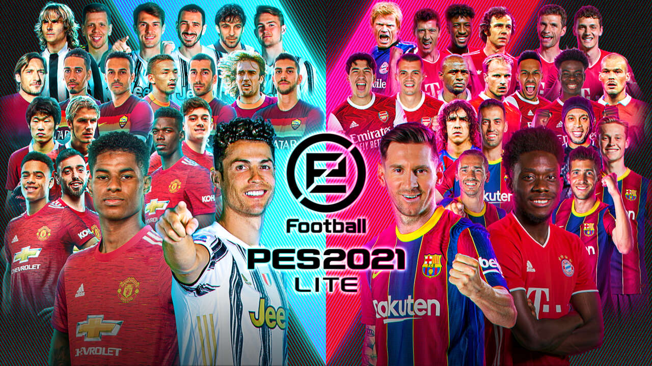 Free-To-Play Soccer Game PES 2021 Lite Is Available Now