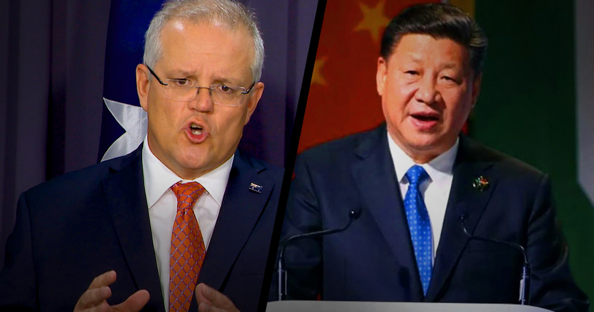That doctored image and soaring Sino-Australian relations