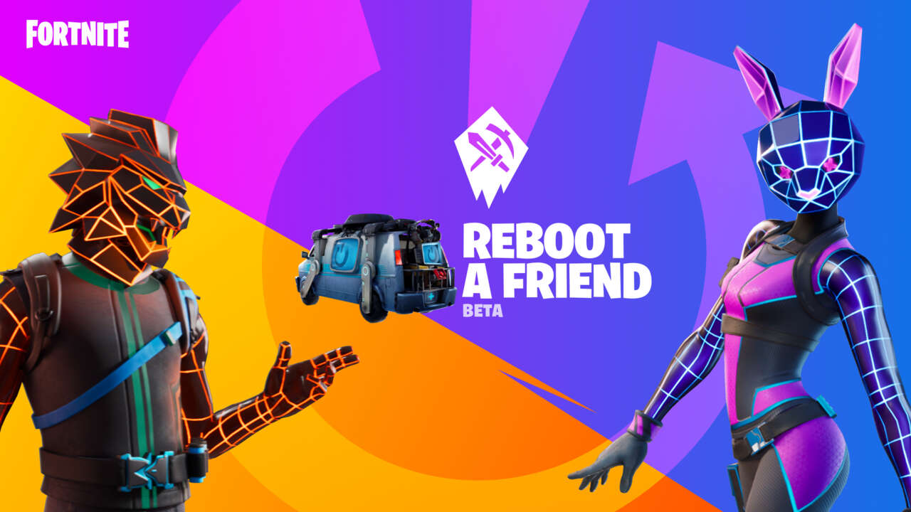 Fortnite Reboot A Friend Program Offers Rewards For Getting Someone To Play