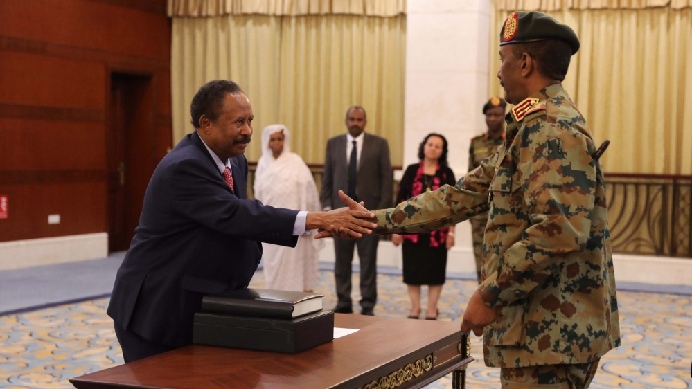 Sudan gov't rejects ruling council head's move creating new body