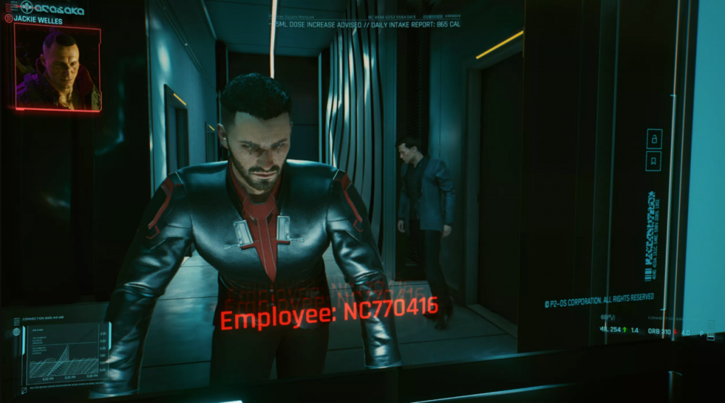 Musk in-game. Credit: CNET