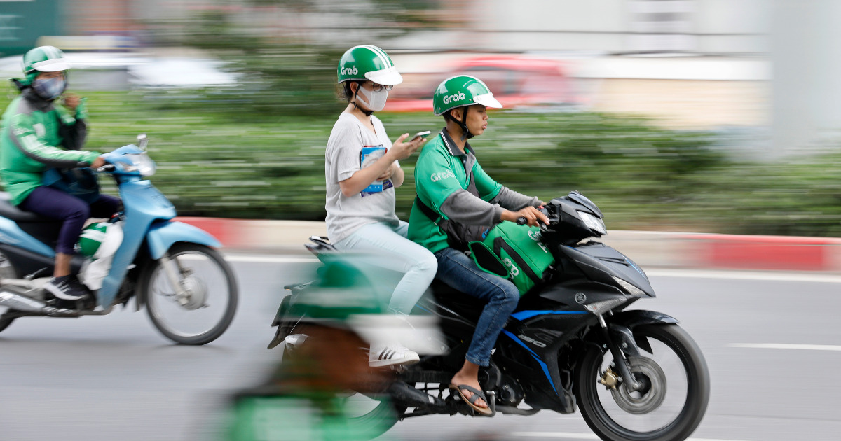 Grab says in 'position to acquire' as Gojek merger talk swirls