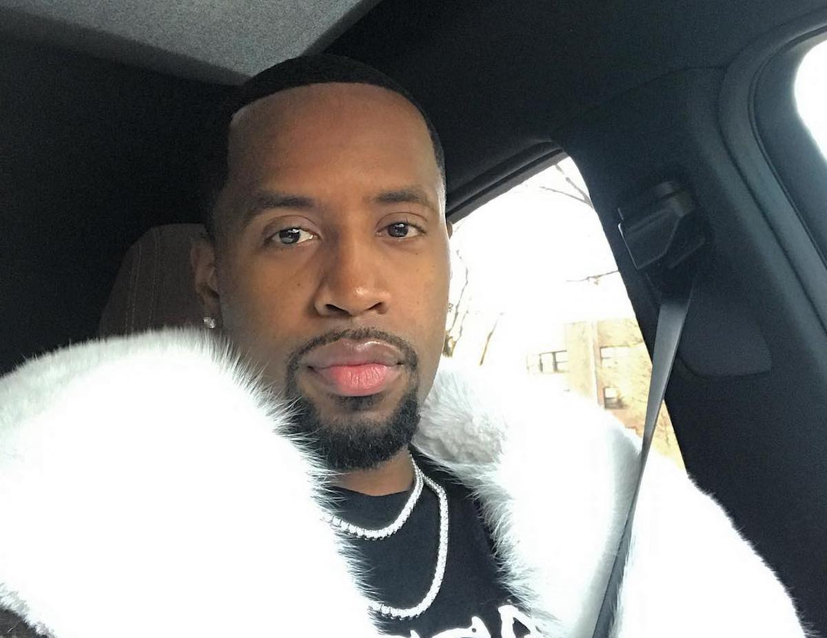 Safaree Flexes For The 'Gram In This Violet Outfit And Fans Are Here For This