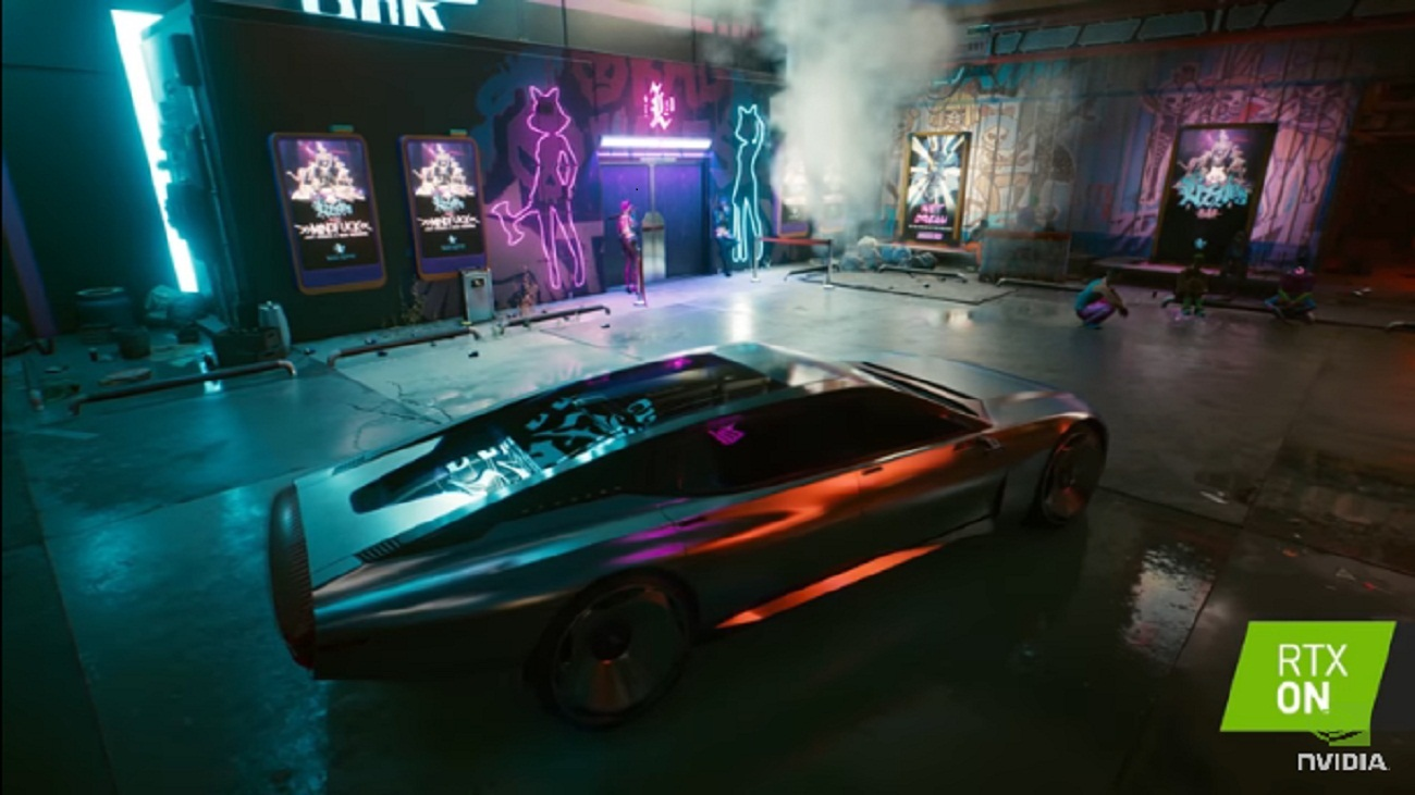 NVIDIA GeForce's Cyberpunk 2077 RTX Launch Trailer Reveals The Game At Optimum Performance